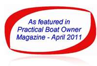 Featured in Practial Boat Owner Magazine