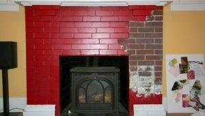 Brick Coating Removal